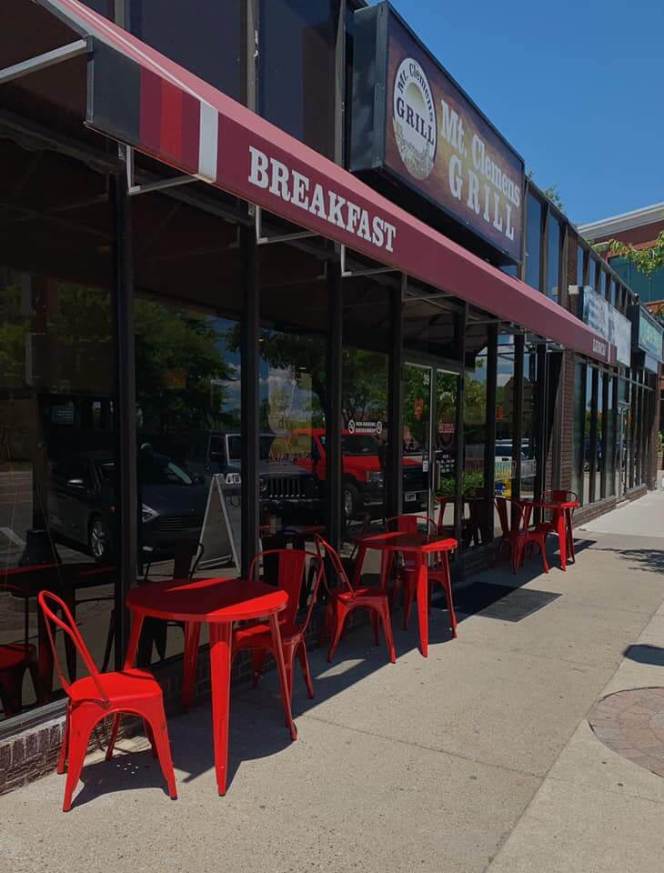 With plenty of outside eating, Mt Clemens Grill is the perfect place for a pleasant lunch.
